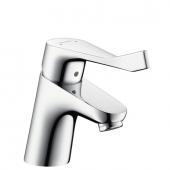 Hansgrohe Focus Care - Einhebel-Waschtischmischer 70 ohne Zugstangen-Ablaufgarnitur chrom