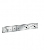 Hansgrohe RainSelect - Thermostat Unterputz Fertigset 4 Verbraucher chrom