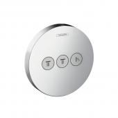 Hansgerohe ShowerSelect S - Ventil Unterputz für 3 Verbraucher chrom
