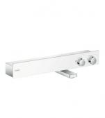 Hansgrohe ShowerTablet 600 - Thermostat Wanne Aufputz DN15 weiß / chrom