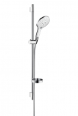 Hansgrohe Raindance - Brausenset Select 150 UnicaS Puro 0,90 m weiss/chrom