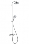 Hansgrohe Raindance - Showerpipe Select Wanne chr.Kopfbrause Air 1jet 240mm