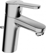 HANSA HansaPrimo - Mezclador monomando para lavabo tamaño S con vaciador automático cromo