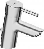 HANSA HansaVantisStyle - Mezclador monomando para lavabo tamaño XS con vaciador automático cromo
