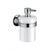 AXOR Montreux - Dispensador de loción polished nickel / white