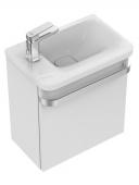 Ideal Standard Tonic II - Waschtischunterschrank für Handwaschbecken hochglanz weiß lackiert