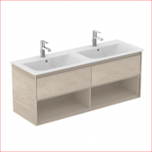 Ideal Standard Connect Air - lavabo plan double 1300 x 440 x 517 - Detail couleur