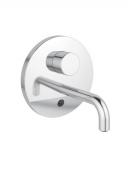 Ideal Standard CERAPLUS - Mezclador monomando para lavabo para montaje mural con proyección 150 mm sin vaciador automático cromo
