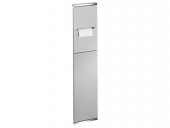 Keuco Plan - WC module 1 aluminium / chrome-plated