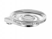 Keuco Collection Moll - Jabonera chrome / clear