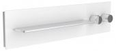 Keuco meTime_spa - Thermostatbatterie 1 Verbraucher Griffe rechts Glas cashmere