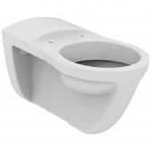 Ideal Standard Contour 21 - Wandflachspül-WC barrierefrei 350 x 700 x 380 mm weiß mit IdealPlus