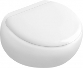 Villeroy & Boch Pure Stone - WC Sitz weiß alpin mit CeramicPlus