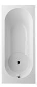 Villeroy & Boch Libra - Badewanne Rechteck 1700 x 750 mm weiß alpin