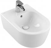 to - Bidet 370 x 530 mm mit Überlauf wandhängend stone white mit CeramicPlus