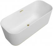 Villeroy & Boch Finion - Badewanne CoD Ventil Überlauf gold white alpin