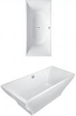 Villeroy & Boch La Belle - Badewanne 1800 x 800 mm freistehend Quaryl BiColor weiß alpin