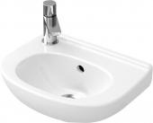 Villeroy & Boch O.novo - Handwaschbecken Compact 5360 360 x 275 mm mit Überlauf weiß alpin