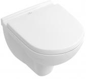 Villeroy & Boch O.novo - Combi-Pack Compact Wand-Tiefspül-WC 490 x 360 mm weiß mit CeramicPlus
