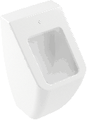 Villeroy & Boch Venticello - Absaug-Urinal 285 x 545 x 315 mm ohne Deckel weiß alpin CeramicPlus