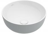 Villeroy & Boch Artis - Aufsatzwaschtisch 430 mm rund french linen