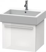 Duravit x-Large - Waschtischunterbau weiß hochglanz dekor 550 mm