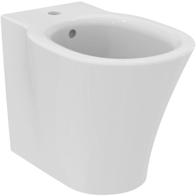 Ideal Standard Connect Air - Standbidet 1 Hahnloch 360 x 550 x 400 mm weiß mit IdealPlus