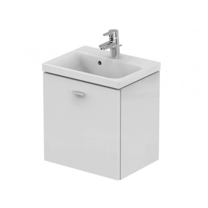 Ideal Standard Connect Space - Waschtisch-Unterschrank 490 x 375 x 513 mm hochglanz mittelgrau dekor