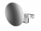 Emco - LED-Rasier- und Kosmetikspiegel 2-armig 5-fach rund 209 mm