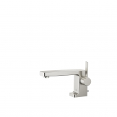 Dornbracht Lulu - Miscelatore monocomando per lavabo Taglia S con scarico a saltarello platinum matt