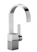 Dornbracht Mem - Waschtisch-Einhandmischer mit Ablaufgarnitur dark platinum matt