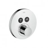 Hansgrohe Axor ShowerSelect - Thermostat UP Fertigset 2 Verbraucher rund chrom
