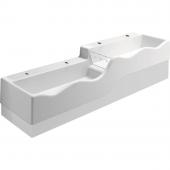 Geberit 4Bambini - Spiel- und Waschlandschaft Version links mit vier Waschplätzen