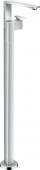 Axor Edge - Waschtischmischer zur Bodenmontage Diamantschliff chrom