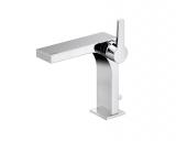 Keuco Edition 11 - Miscelatore monocomando per lavabo Taglia M con scarico a saltarello cromo