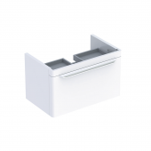 Geberit myDay - Waschtischunterschrank 880 x 410 x 405 mm taupe hochglanz