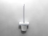 Dornbracht Lulu - Set porta scopino platinum matt