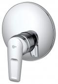 Ideal Standard CeraMix Blue - Miscelatore monocomando a incasso per doccia senza deviatore manuale cromo