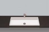 Alape EB.ME - Einbaubecken 750 x 375 mm ohne Hahnloch und Überlauf weiß
