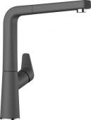 Blanco Avona-S - Küchenarmatur Silgranit-Look Hochdruck felsgrau