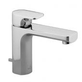 Villeroy & Boch by Dornbracht Cult - Miscelatore monocomando per lavabo 92 con scarico a saltarello cromo
