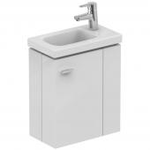 Ideal Standard Connect Space - Waschtischunterschrank für Handwaschbecken Ablage rechts ulme grau
