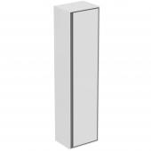 Ideal Standard Connect Air - Hochschrank 1 Tür 1600 x 300 x 400 mm weiß glänzend / hellgrau matt 1