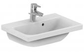Ideal Standard Connect Space - Lavabo per mobile 550x380mm con 1 foro per rubinetto con troppopieno bianco con IdealPlus