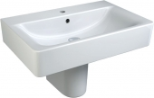 Ideal Standard Connect - Lavabo per mobile 700x460mm con 1 foro per rubinetto con troppopieno bianco senza  IdealPlus