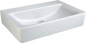 Ideal Standard Connect - Lavabo per mobile 600x460mm senza fori per rubinetti senza troppopieno bianco senza  IdealPlus