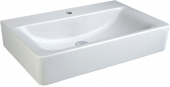 Ideal Standard Connect - Lavabo per mobile 650x460mm con 1 foro per rubinetto senza troppopieno bianco senza  IdealPlus