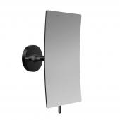 EMCO Round - Specchio cosmetico 3x magnification senza illuminazione nero / specchiato