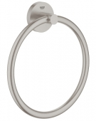 Grohe Essentials - Handtuchring Metall supersteel