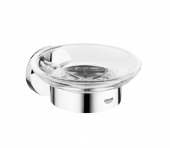 GROHE Essentials - Porta sapone chrome / clear